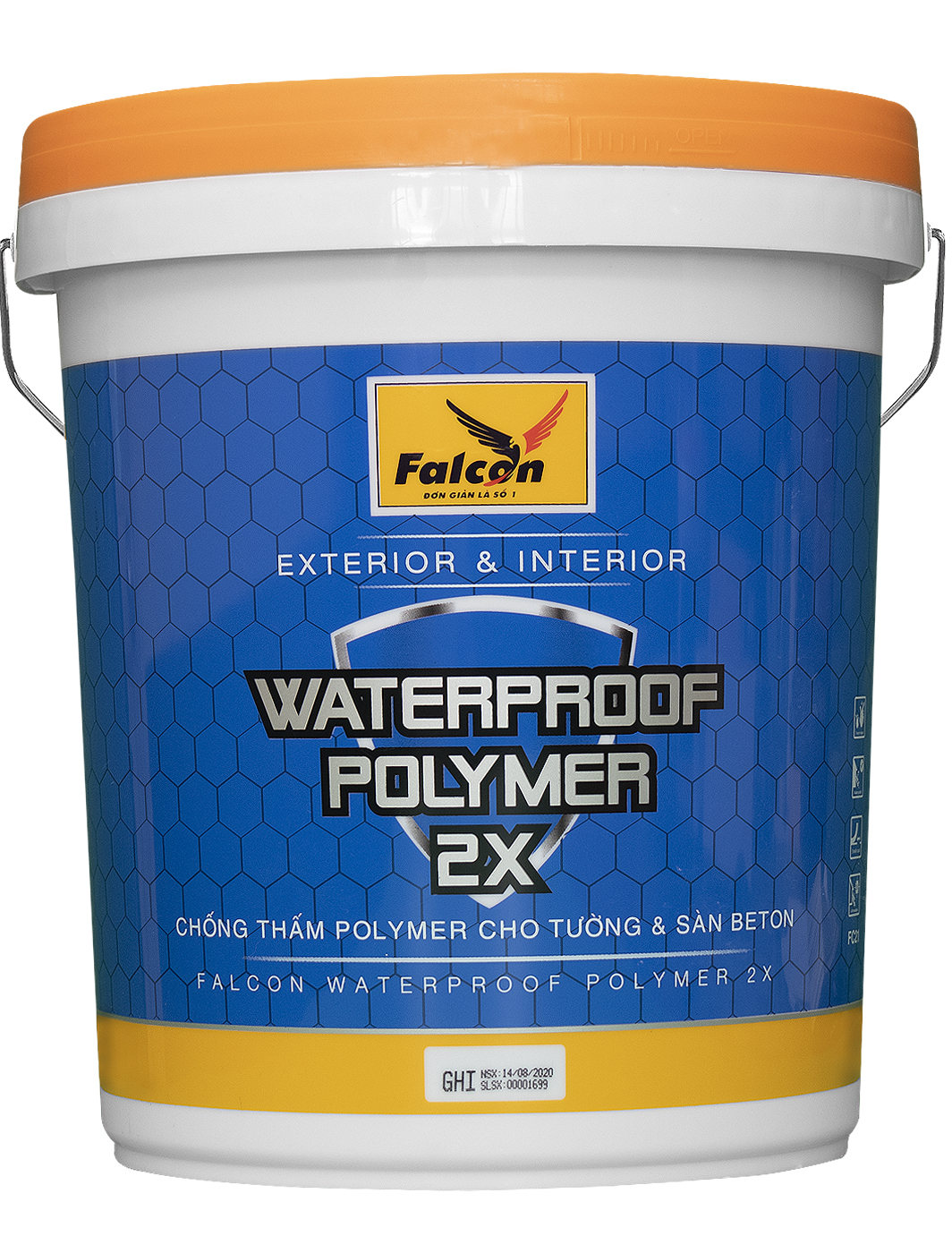 POLYMER FALCON WATER PROOF POLYMER 2X