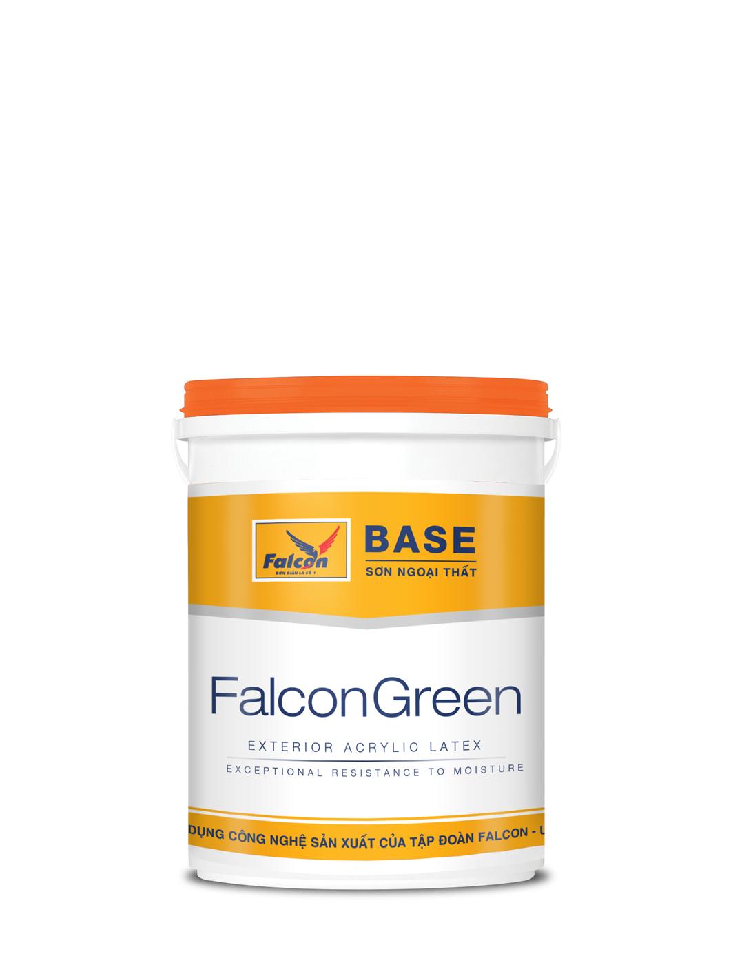 SƠN MỊN NGOẠI THẤT FALCON EXT GREEN - 4.25L