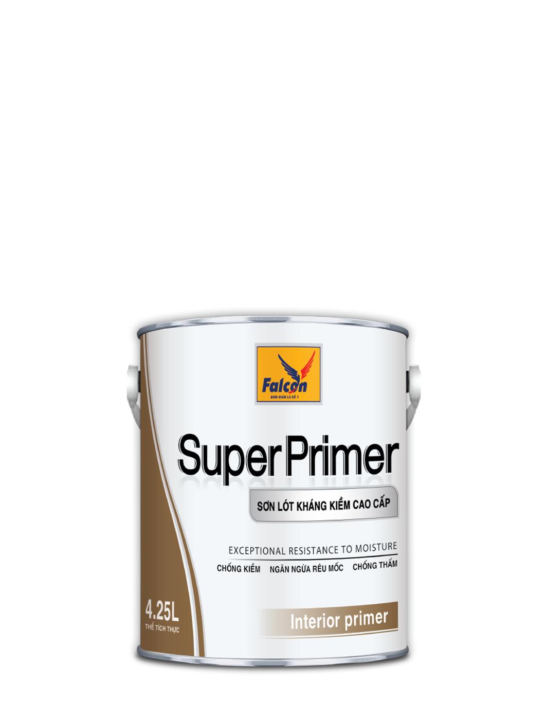 SƠN LÓT CHỐNG KIỀM NỘI THẤT FALCON INT SUPER PRIMER - 4.25L