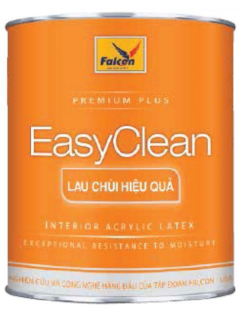 SƠN NỘI THẤT LAU CHÙI FALCON INT EASY CLEAN - 4.25L